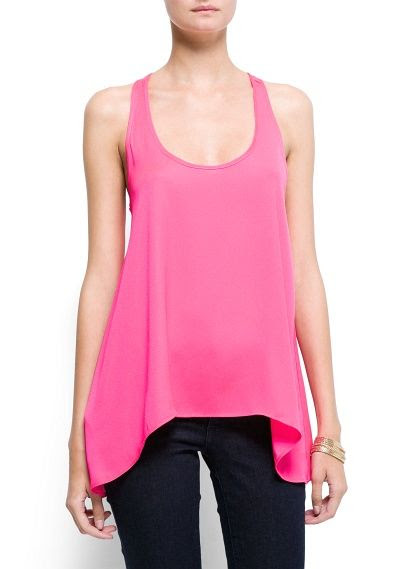 Mango Loose Fit Tank Top