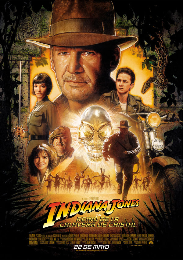 Indiana Jones y el Reino de la Calavera de Cristal (Steven Spielberg, 2.008)