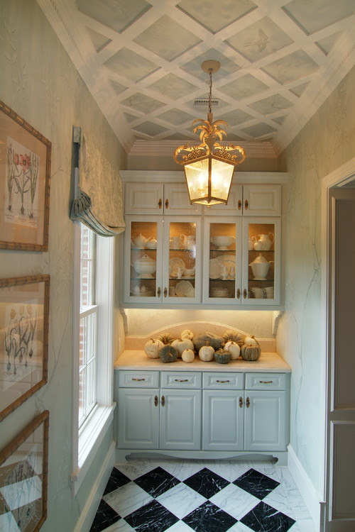 Frugal with a Flourish: Decorating Up: Inspirational Ceilings