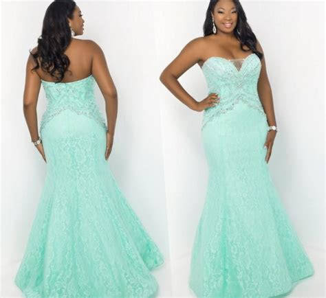Cheap prom dresses for plus size   PlusLook.eu Collection