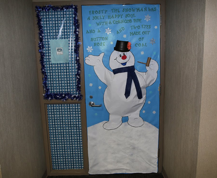 Christmas Door Decoration Competition Turns Gntcs Floyd County