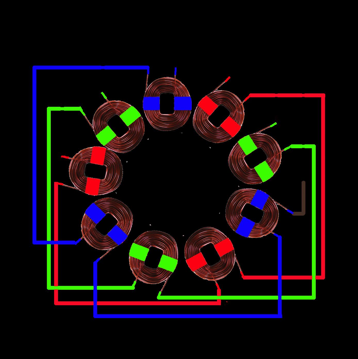 3 Phase Stator Visualisation Hugh Piggott S Blog
