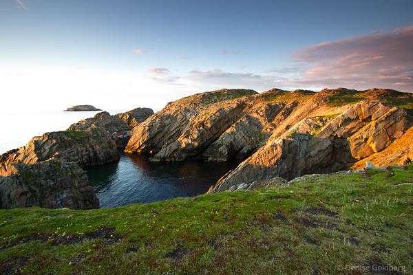 setting sun, Cape Bonavista, Newfoundland