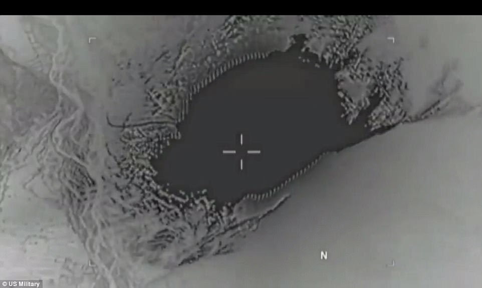 POWERFUL: New Pentagon video shows the explosive power of the MOAB dropped in Afghanistan