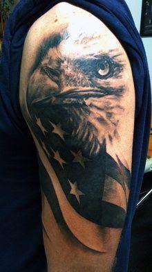 American Flag Eagle Tattoo Tattoomagz