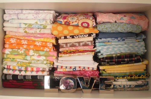 fat quarter shelf