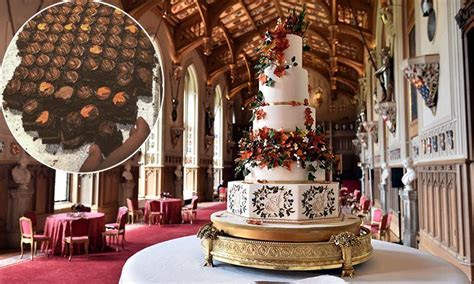 How Eugenie's royal wedding cake was served at evening