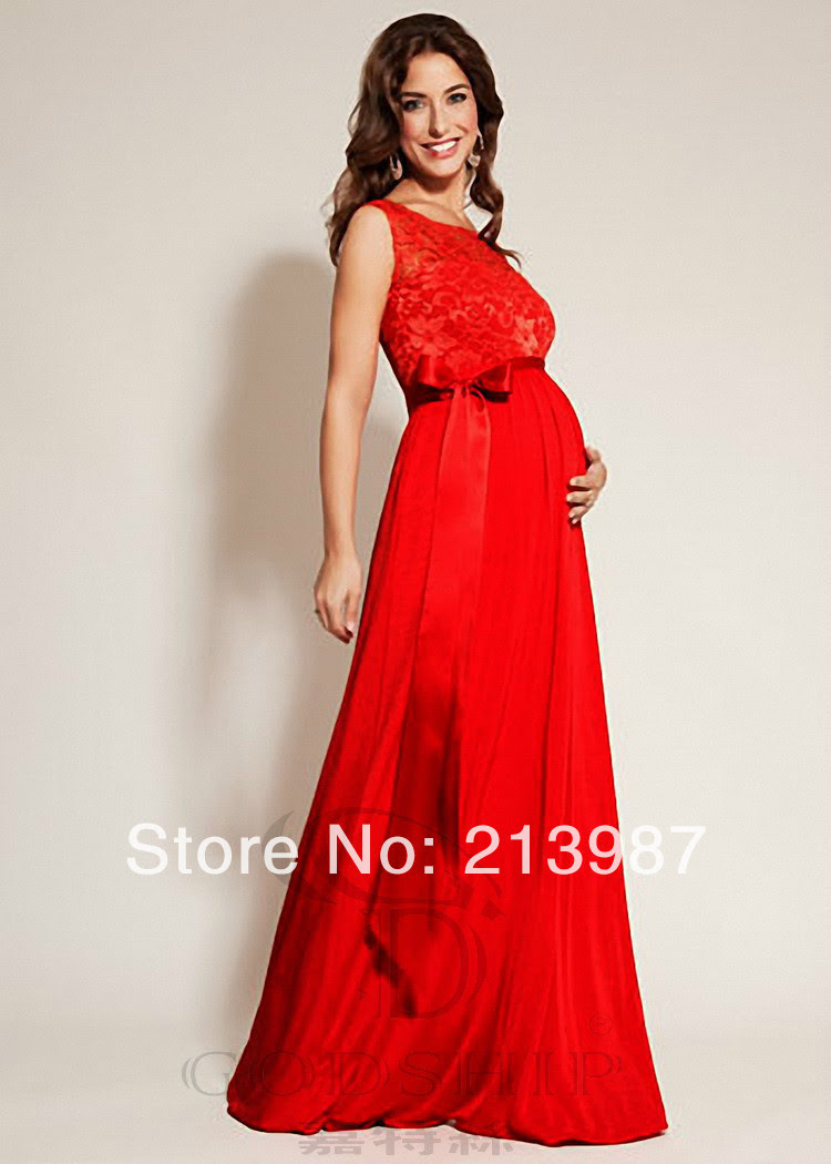 Maternity evening dresses lace