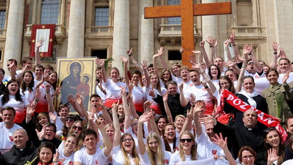 Cruz e Ícone de Nossa Senhora estão peregrinando em toda a Polônia e Leste Europeu./ Foto: Site JMJ2016