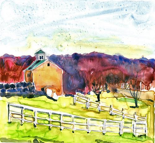 Farmhouse near Hudson, NY