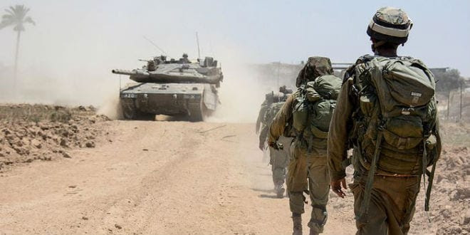 IDF soldiers from the Nahal Brigade operating in Gaza during Operation Protective Edge. (Photo: IDF)