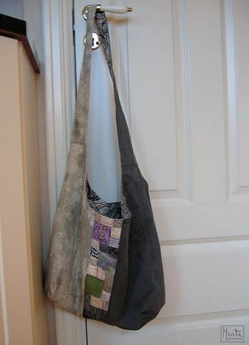 grå veske :: gray bag