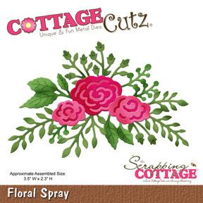 http://www.scrappingcottage.com/cottagecutzfloralspray.aspx