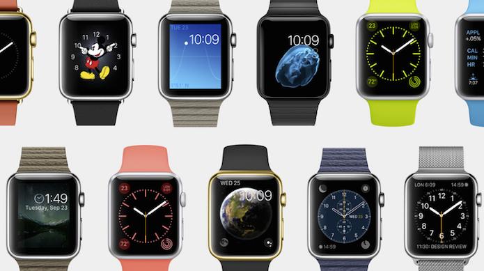 Relógio da Apple pode ter várias caras (Foto: Divulgação)