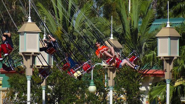 Disneyland Resort, Disney California Adventure, Silly Symphony Swings