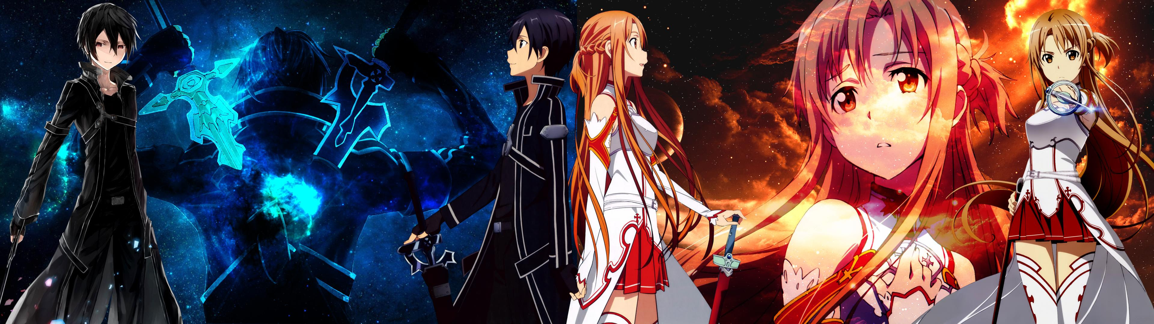 Sword Art Online Dual Monitor Wallpaper Anime Top Wallpaper