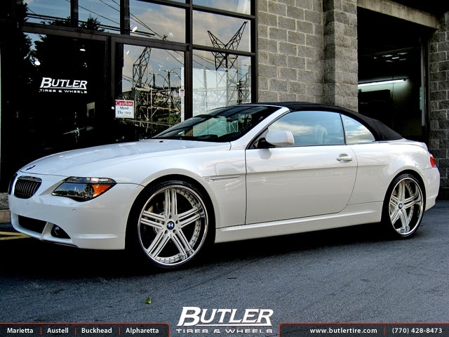 Bmw 6 Series With 22in Dub Type 11 Wheels Exclusively From Butler Tires And Wheels In Atlanta