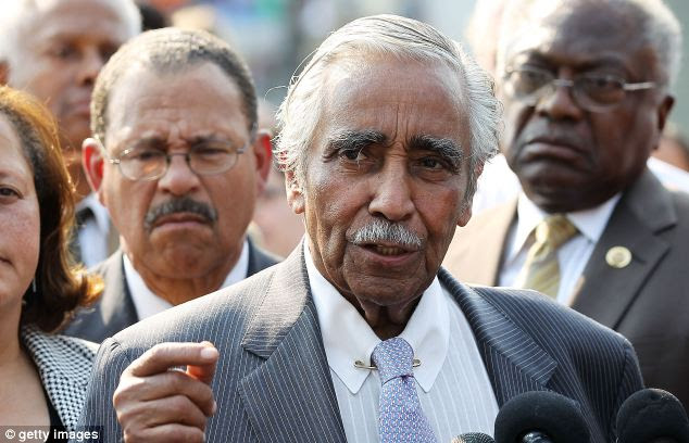 New York Democratic Rep. Charles Rangel complained that the Supreme Court's 'Citizens United' ruling created an environment ripe for abuse of political donations, making the IRS's job impossible to do fairly