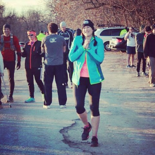 Pre race at the Little Woods Ultra. #running #trails