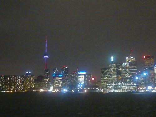 Toronto sky line from the Sound Academy