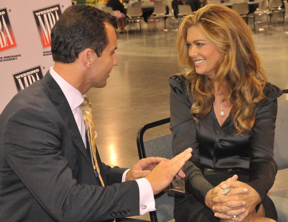 Marcello Pedalino and Kathy Ireland Wedding MBA 2011 Photo Credi Liz Dailey