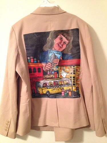"""""""Making Me Believe"""" a jacket for Tracy Walsh"""