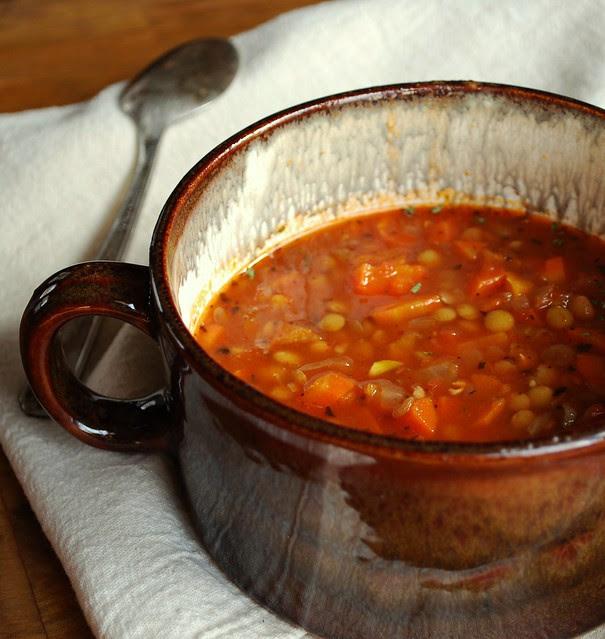 Greek Lentil Soup 2