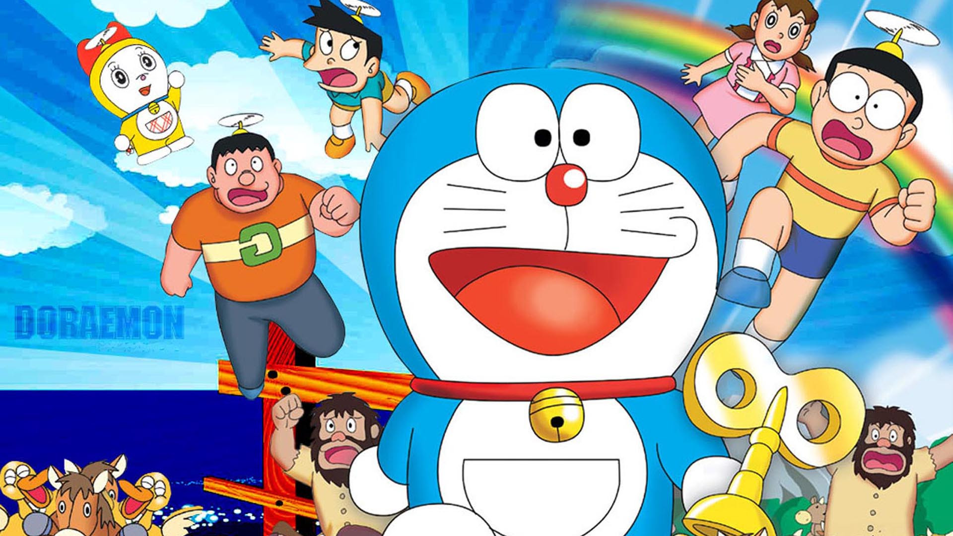Doraemon 3D Cartoon HD for Android Wallpaper: Desktop HD Wallpaper  Download Free Image