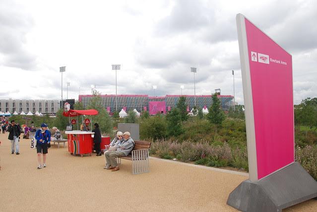 Day at the Olympic Park