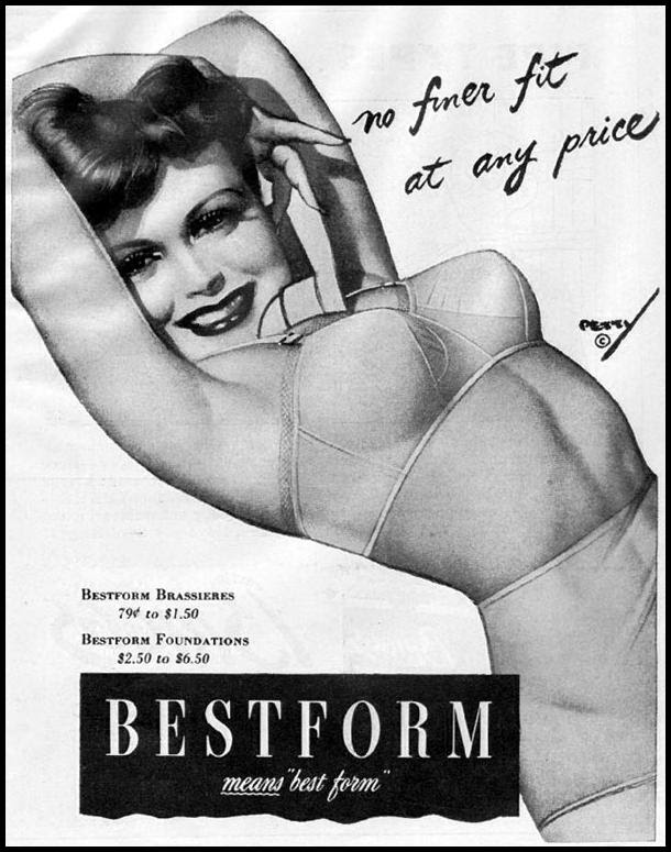 BESTFORM BRAS AND FOUNDATIONS LIFE 10/23/1944 p. 112