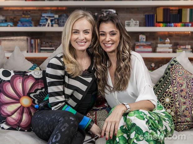 Angélica conhece a casa de Mônica (Foto: TV Globo/Inácio Moraes)