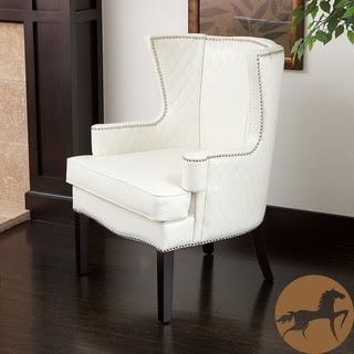 Accent Chairs,White Living Room Furniture | Overstock.com Shopping ...