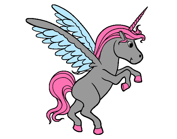 Dibujo De Unicornio Joven Pintado Por Lauradayan En Dibujos Net El