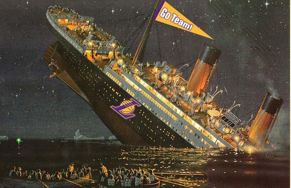 SS LA going down