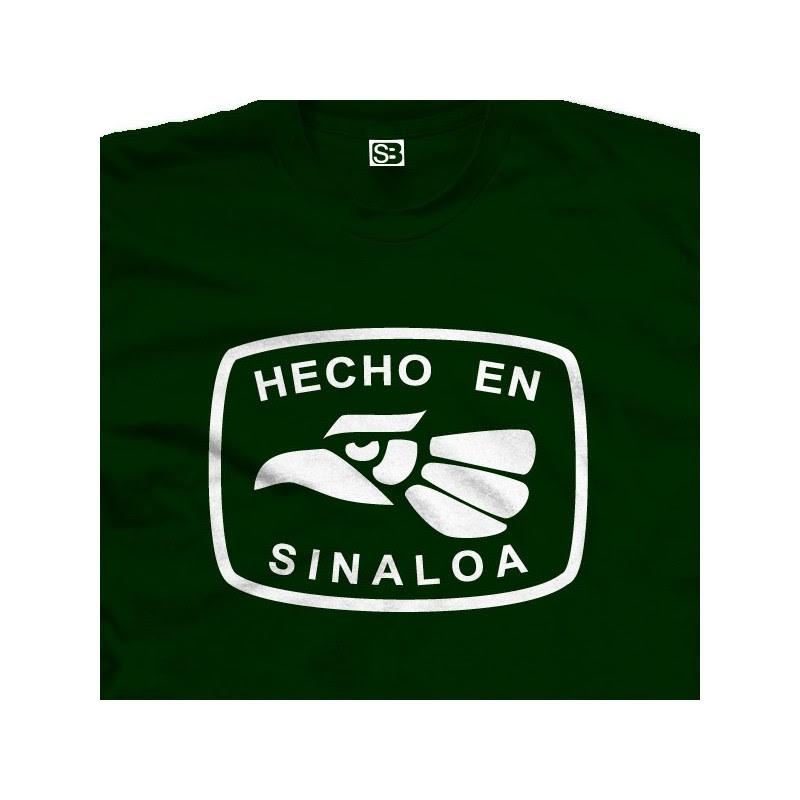 Hecho En Sinaloa Mexico T Shirt