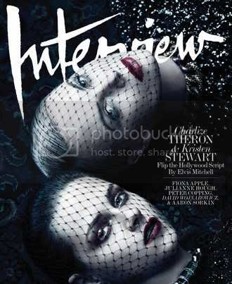 Kristen Stewart  and Charlize Theron for Interview Magazine