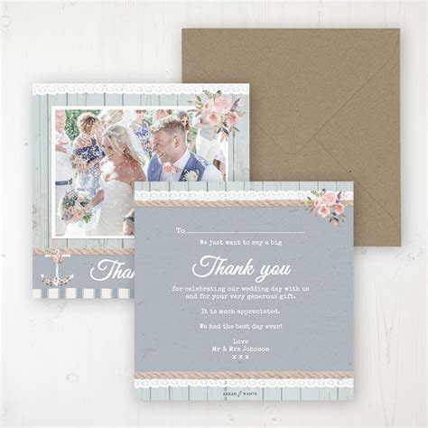 Anchored in Love Thank You Cards   Sarah Wants Stationery