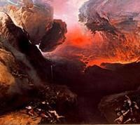 Le peintre John Martin a imaginé la fin du monde. (Crédits photo: TATE)