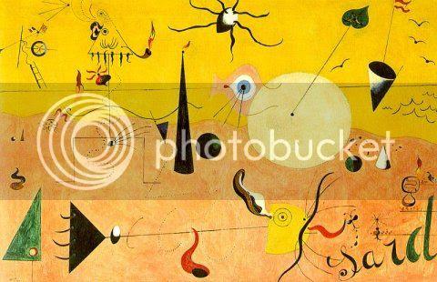 Joan Miró - Paesaggio catalano (Il cacciatore), 1923-24