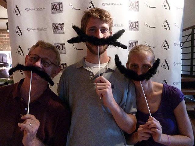 P1030340-2010-08-13-Castleberry-Stroll-Artist-Trifecta-Dali-Moustache-TK-DK-KK