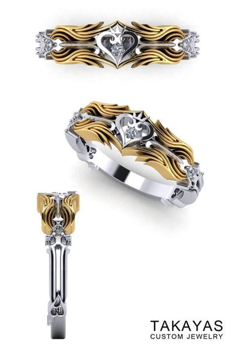 The ?Kingdom Hearts? Wedding Ring Collection   Nice Nerdy
