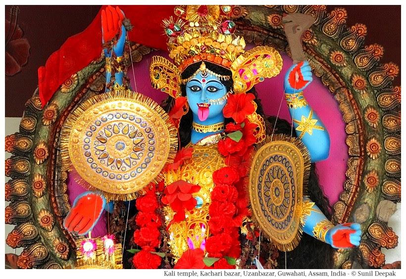 Kali temple, Kachari bazar, Guwahati, Assam, India