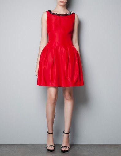 Zara Pleated Dress with Jewelled Collar