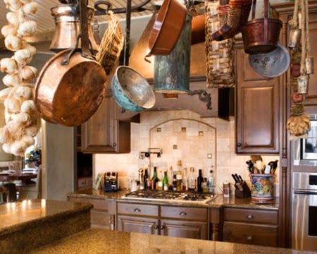 Italian rustic kitchen - Country cool décor