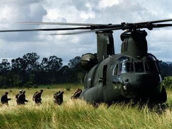 CH-47D сухопутных войск Австралии. Фото с сайта boeing.com