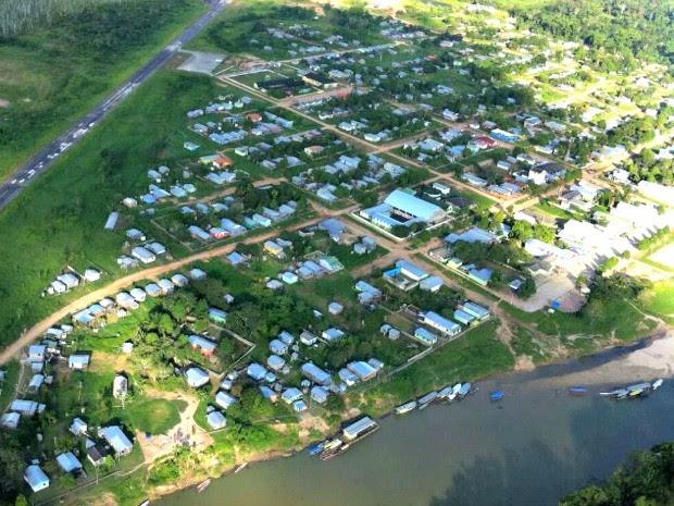 Tremor de terra foi registrado no município de Jordão, distante 462 km de Rio Branco (Foto: Kézio Araújo/Arquivo pessoal)