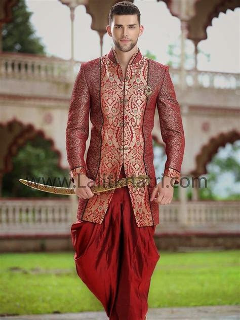 Lalit Khatri Wedding Sherwani 2015 For Men   Latest
