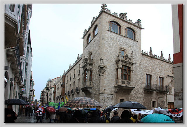 7 Manifestación contra el fracking en Burgos