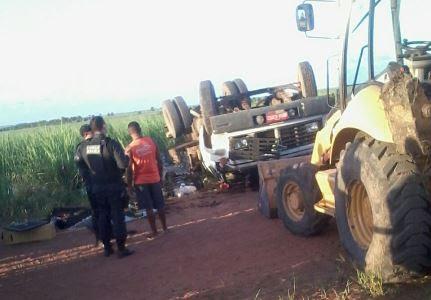 Gari morreu esmagado pela carga de lixo (foto: Digital Mipibu)