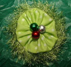 holiday brooch